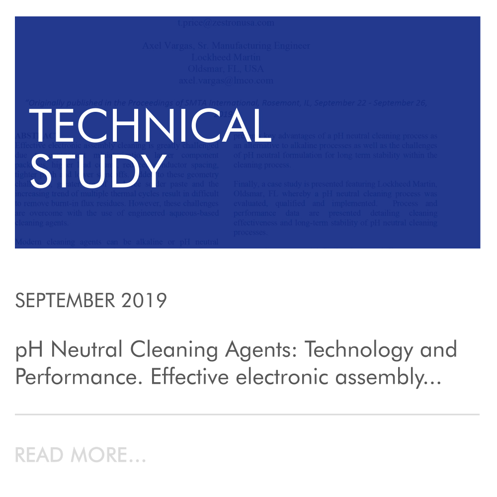 PH NEUTRAL CLEANING AGENTS TECHNOLOGY AND PERFORMANCE